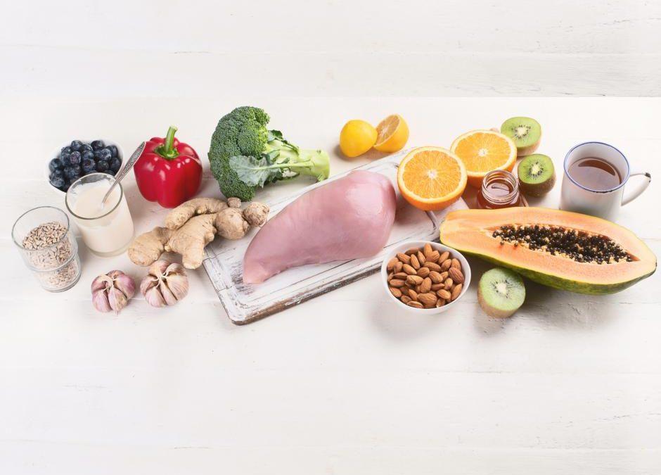 ¿Qué alimentos fortalecen el sistema inmune?